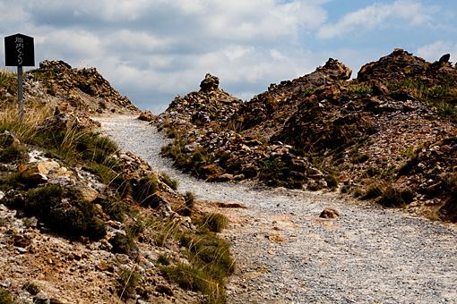 恐山 岩場地帯