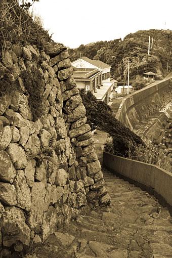 大王町 坂道と階段