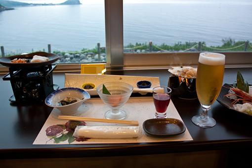 利尻島 雲丹御殿 夕食