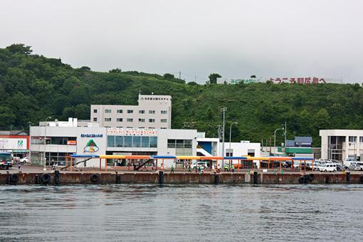 利尻島 鴛泊港フェリーターミナル