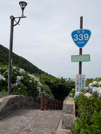 階段国道339号線